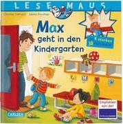 LESEMAUS: Sonderausgabe Max geht in den Kindergarten