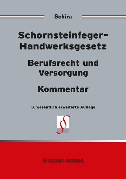 Schornsteinfeger-Handwerksgesetz als Buch von H...
