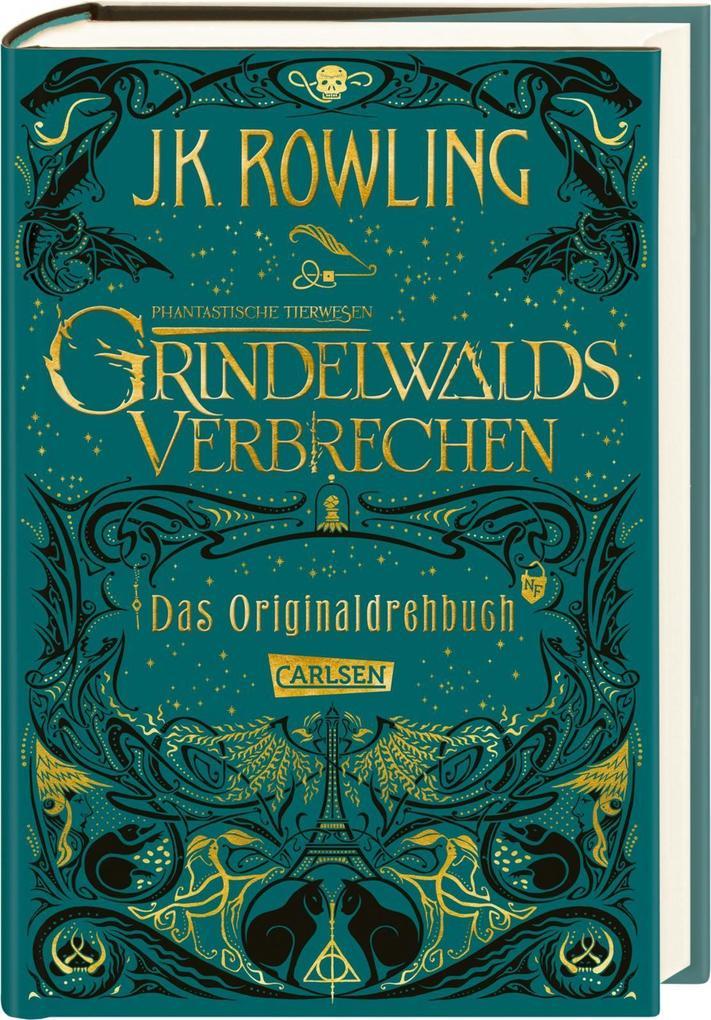 Phantastische Tierwesen: Grindelwalds Verbrechen (Das Originaldrehbuch) als Buch