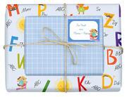 Geschenkpapier-Set für Kinder, Einschulung (für Jungen)