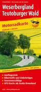 Motorradkarte Weserbergland - Teutoburger Wald 1:200 000