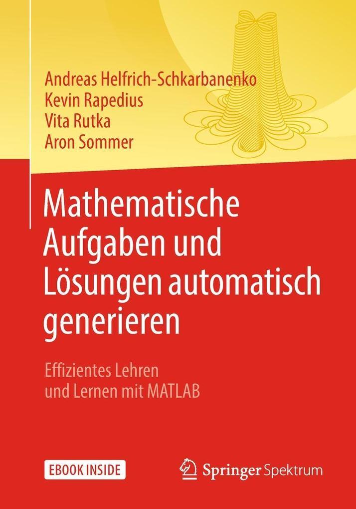 Mathematische Aufgaben und Lösungen automatisch...