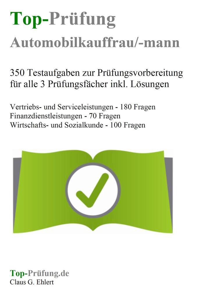 Top-Prüfung Automobilkaufmann / Automobilkauffr...