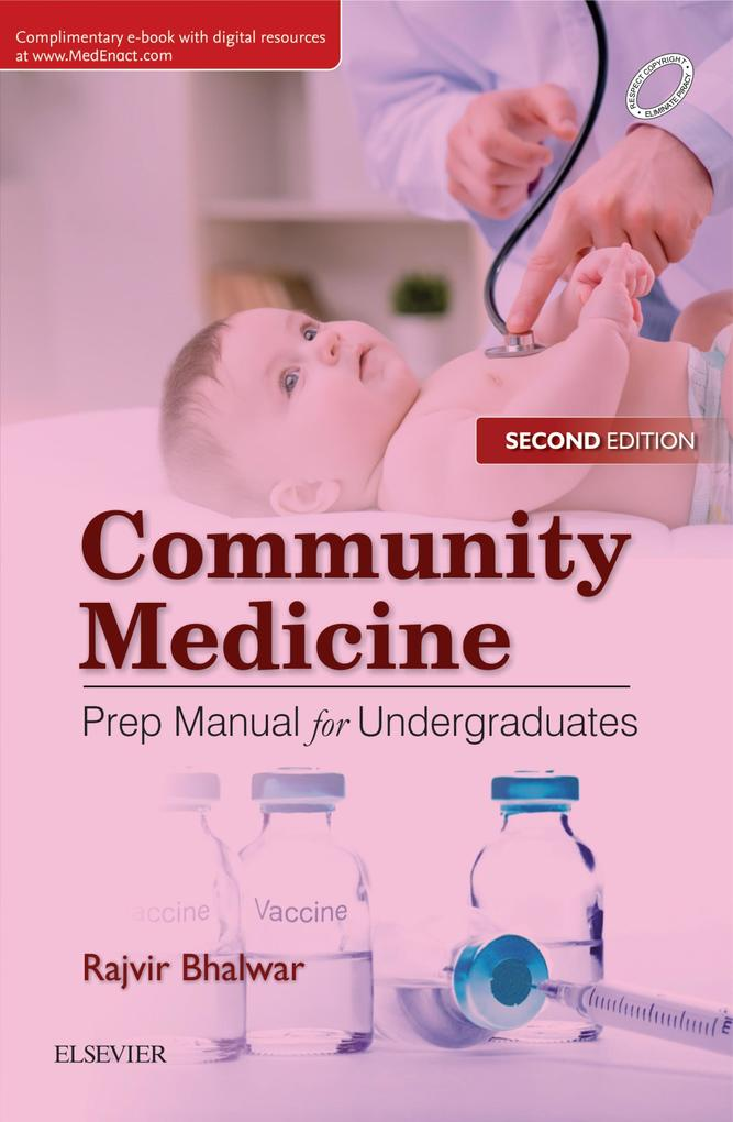 Community Medicine: Prep Manual for Undergradua...