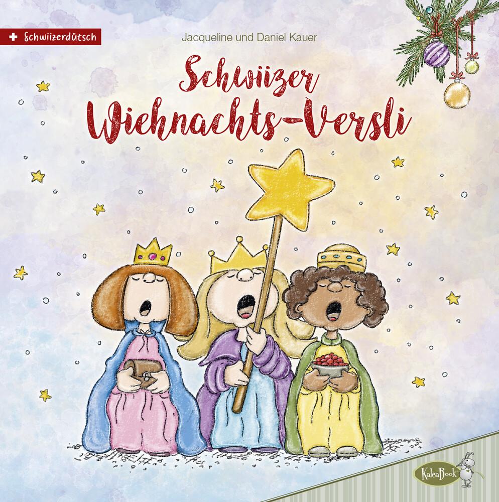 Schwiizer Wiehnachts-Versli als Buch