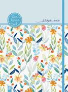 """Mein Lehrerplaner A6+ """"live - love - teach"""" - Editon Blumen - Lehrerkalender für das Schuljahr 2019/2020 - Schulplaner für Lehrerinnen und Lehrer"""