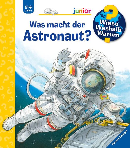 Was macht der Astronaut? als Buch