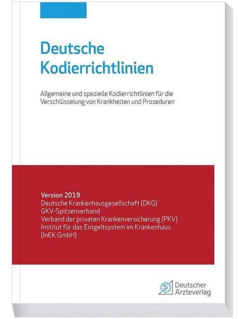 Deutsche Kodierrichtlinien als Buch