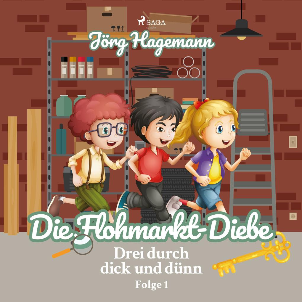 Drei durch dick und dünn, Folge 1: Die Flohmark...
