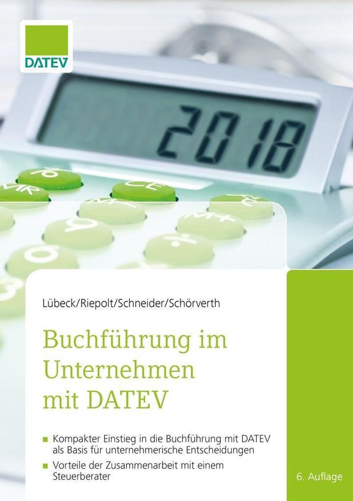 Buchführung im Unternehmen mit DATEV, 6. Auflage als eBook