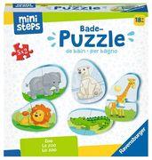 Ravensburger Spiel - ministeps - Badepuzzle Zoo