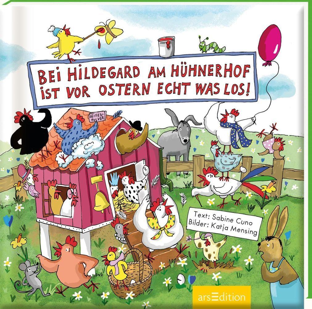 Bei Hildegard am Hühnerhof ist vor Ostern echt was los! als Buch