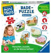 Ravensburger Spiel - ministeps - Badepuzzle Bauernhof