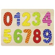 Einlegepuzzle Zahlen 0-9