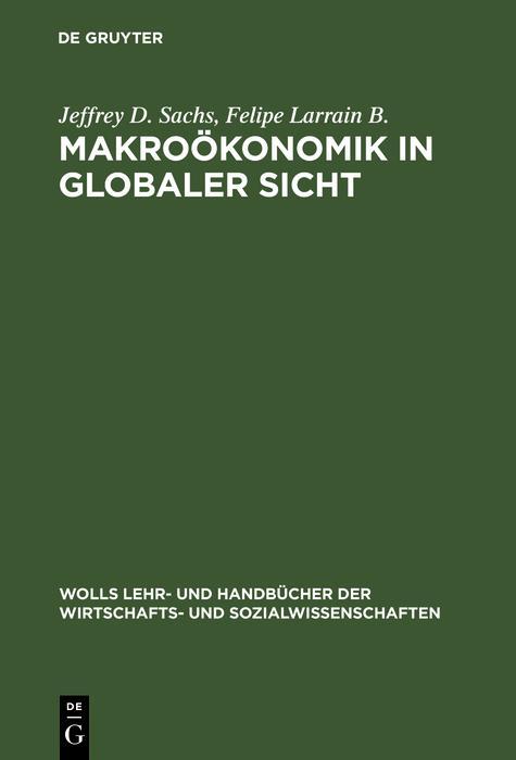 Makroökonomik in globaler Sicht als eBook