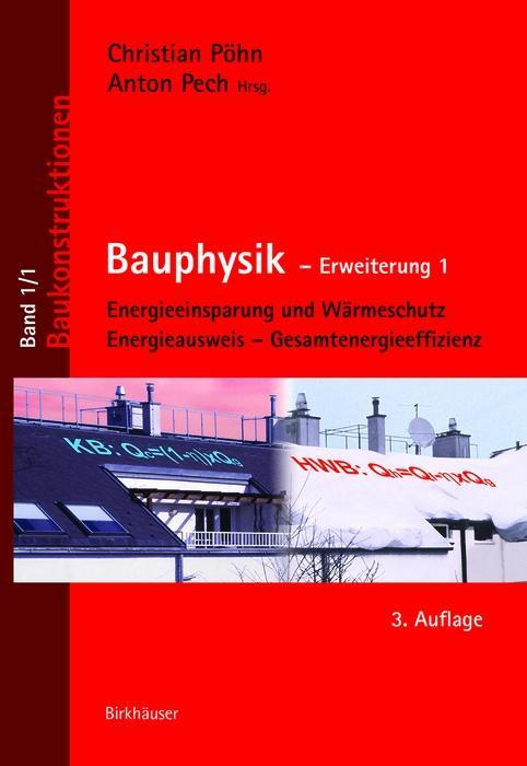 Bauphysik als eBook Download von Christian Pöhn...
