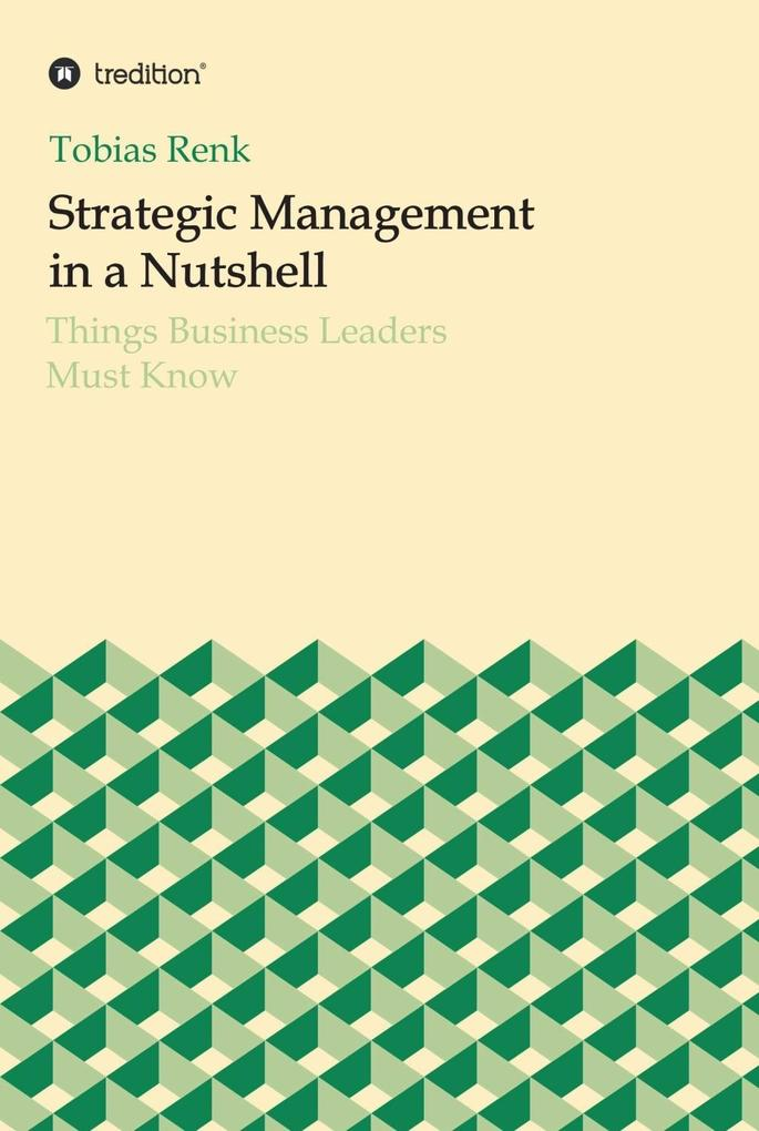 Strategic Management in a Nutshell als eBook Do...