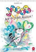 Kater Jacob: Ach Du lieber Mensch (Wandkalender 2019 DIN A4 hoch)