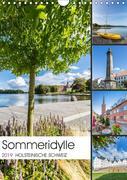 HOLSTEINISCHE SCHWEIZ Sommeridylle (Wandkalender 2019 DIN A4 hoch)