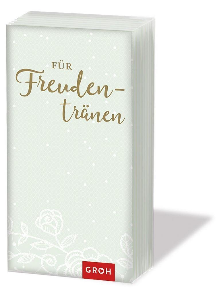 Für Freudentränen - Taschentücher zur Hochzeit