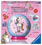 Einhorn 3D Puzzle-Ball 72 Teile
