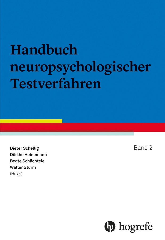 Handbuch neuropsychologischer Testverfahren als...