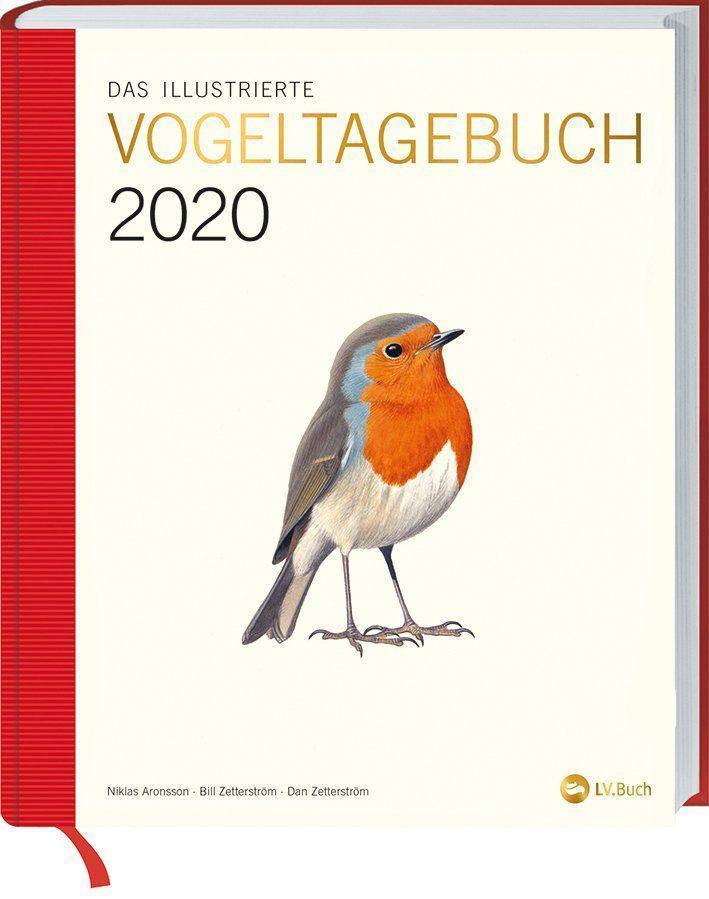 Das illustrierte Vogeltagebuch 2020 als Kalender