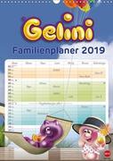 Gelini Familienplaner (Wandkalender 2019 DIN A3 hoch)