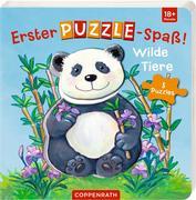 Erster Puzzle-Spaß! Wilde Tiere