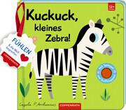 Mein Filz-Fühlbuch: Kuckuck, kleines Zebra!