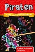 Kratzbuch: Piraten