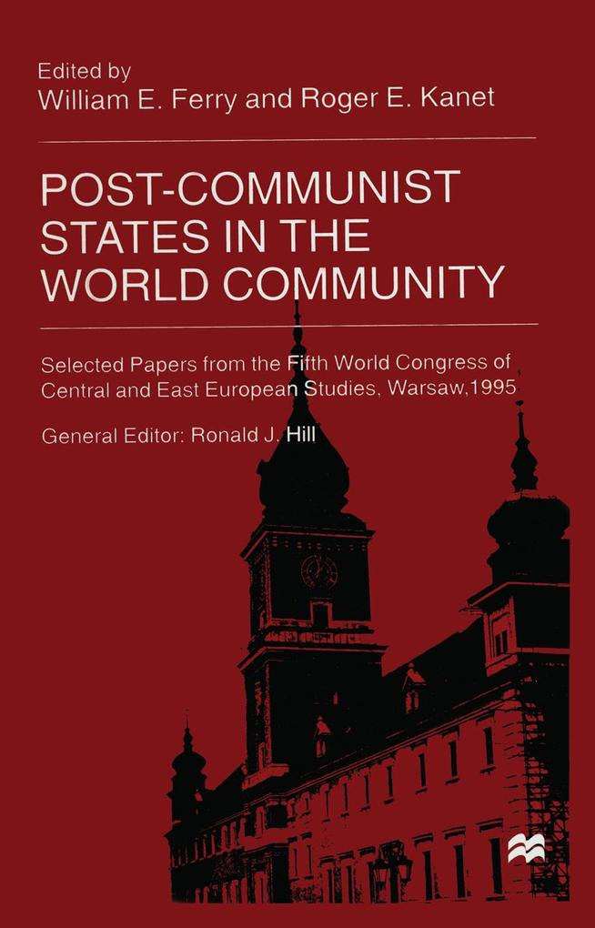 Post Communist States in the World Community al...