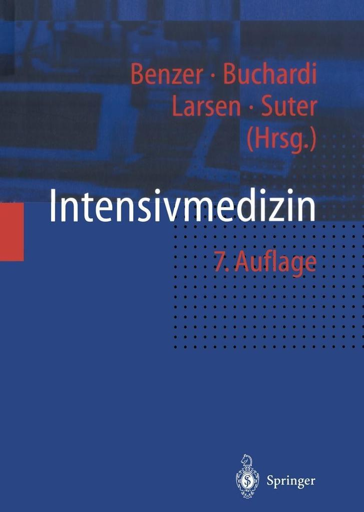 Intensivmedizin als eBook Download von