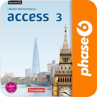Vokabelsammlung zu: English G Access BaWü 3 als Software-Download