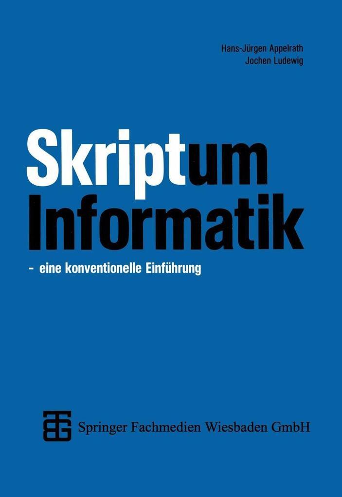 Skriptum Informatik als eBook Download von Joch...