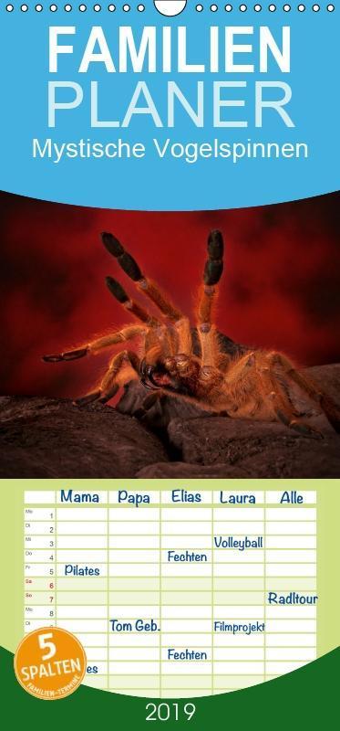 Mystische Vogelspinnen - Familienplaner hoch (W...