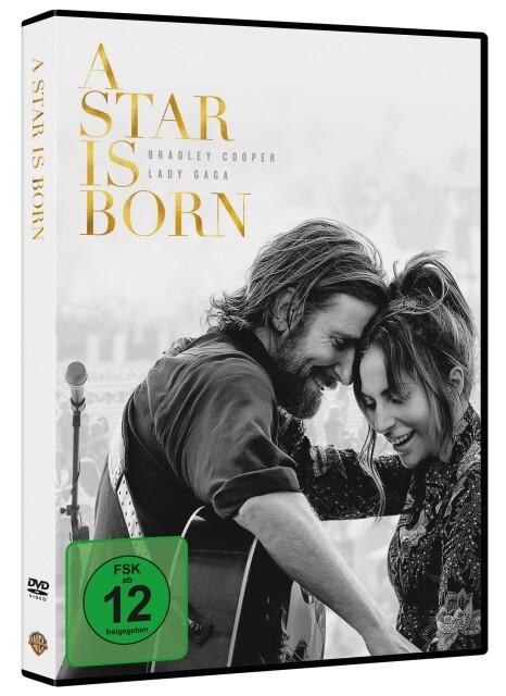 A Star Is Born als DVD