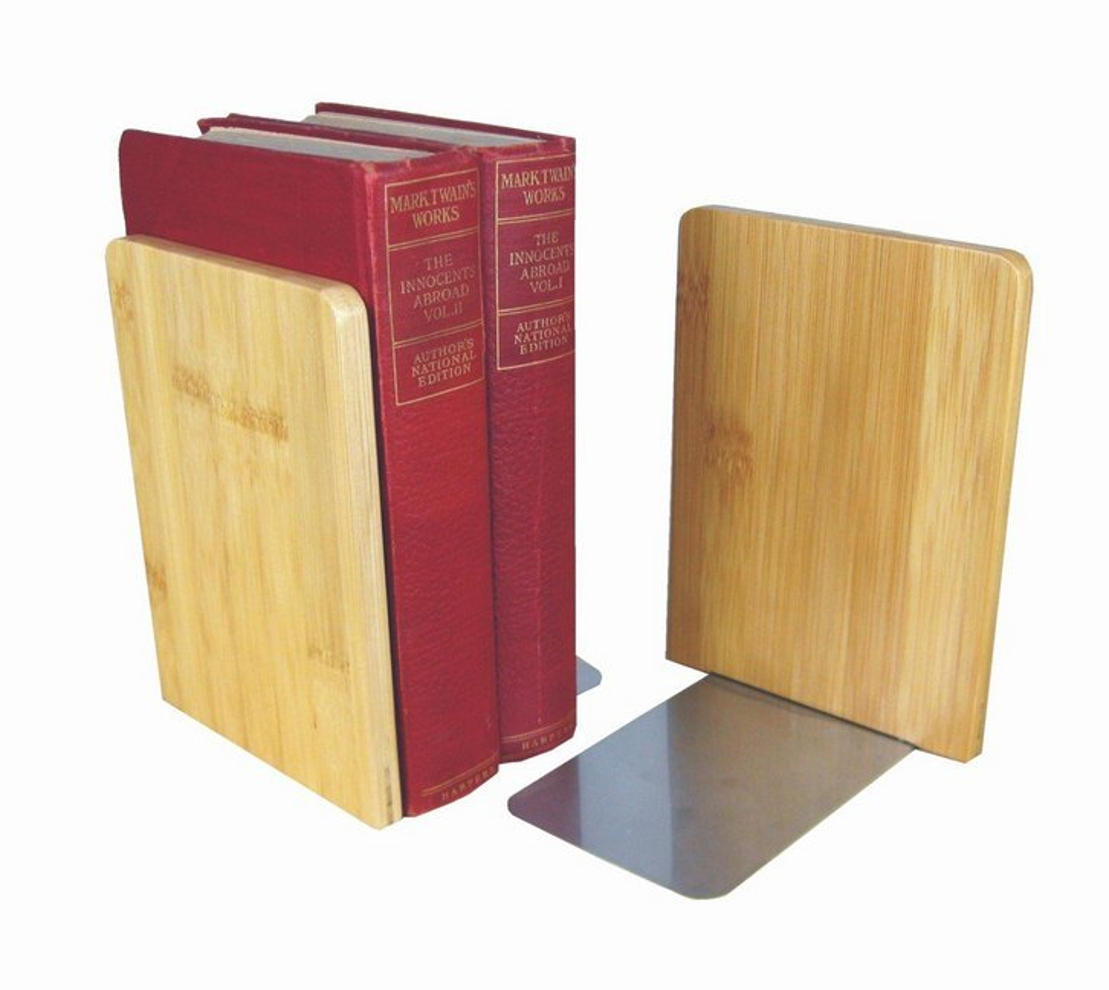 Zeitloses Buchstützenset für Wohnung und Büro