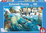 Schmidt Spiele - Puzzle - Tiere am Polarkreis 100 Teile