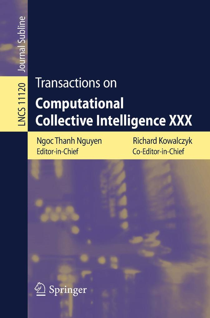 Transactions on Computational Collective Intell...