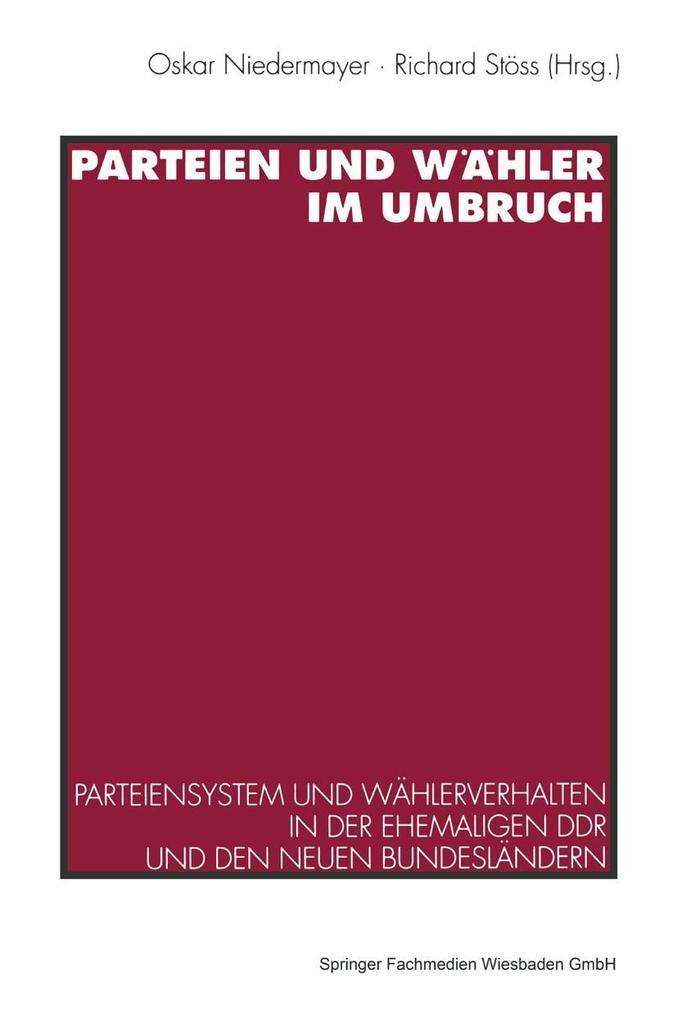 Parteien und Wahler im Umbruch als eBook Downlo...