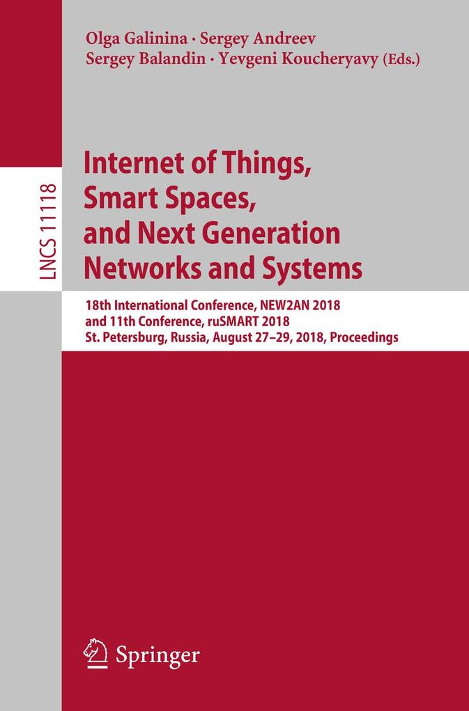 Internet of Things, Smart Spaces, and Next Gene...