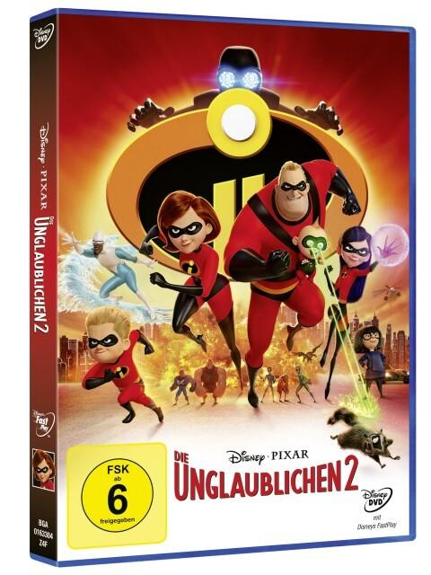 Die Unglaublichen 2 als DVD