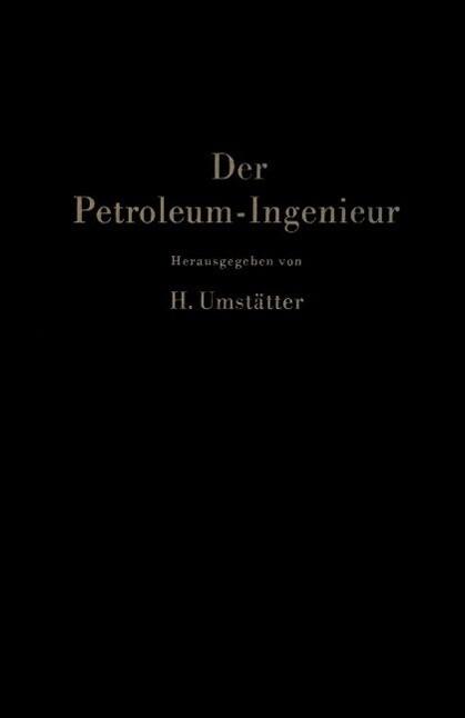 Der Petroleum-Ingenieur als eBook Download von