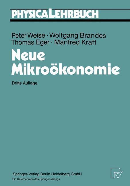 Neue Mikrookonomie als eBook Download von Wolfg...