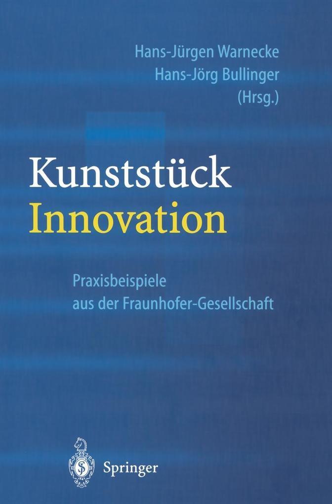 Kunststuck Innovation als eBook Download von