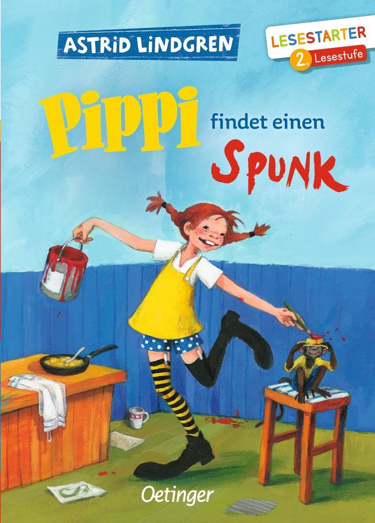 Pippi findet einen Spunk als Buch