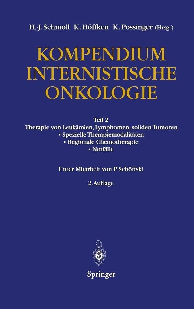 Kompendium Internistische Onkologie als eBook D...
