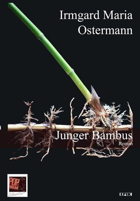 Junger Bambus als Buch