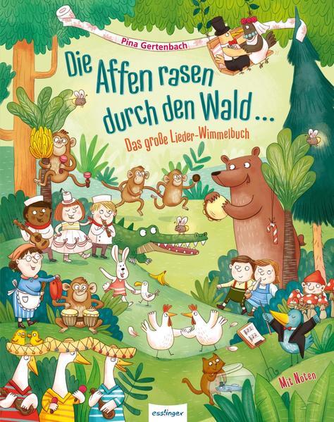 Die Affen rasen durch den Wald ... als Buch